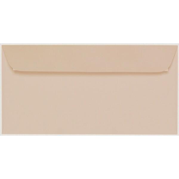 Artoz 1001 - 'Apricot' Envelope. 224mm x 114mm 100gsm DL Peel/Seal Envelope.