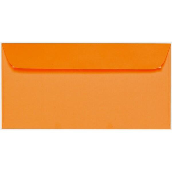 Artoz 1001 - 'Orange' Envelope. 224mm x 114mm 100gsm DL Peel/Seal Envelope.