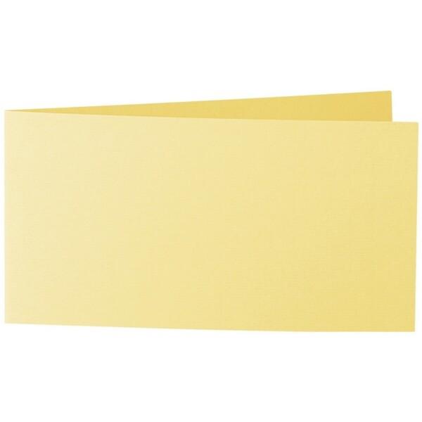 Artoz 1001 - 'Citro' Card. 420mm x 105mm 220gsm DL Bi-Fold (Short Edge) Card.