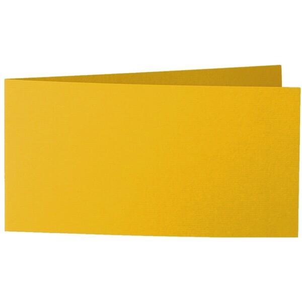 Artoz 1001 - 'Kiwi' Card. 420mm x 105mm 220gsm DL Bi-Fold (Short Edge) Card.