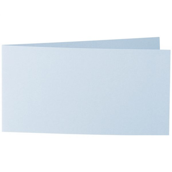 Artoz 1001 - 'Aqua' Card. 420mm x 105mm 220gsm DL Bi-Fold (Short Edge) Card.