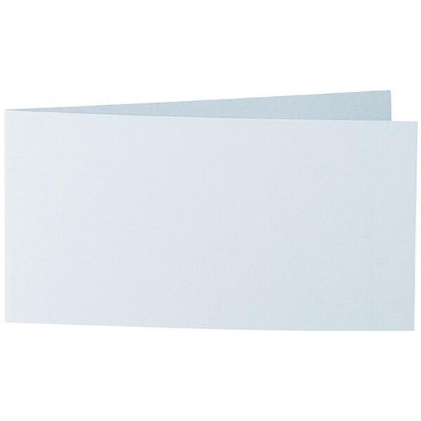 Artoz 1001 - 'Sky Blue' Card. 420mm x 105mm 220gsm DL Bi-Fold (Short Edge) Card.