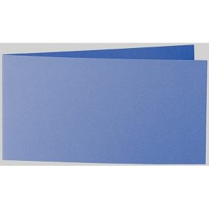Artoz 1001 - 'Royal Blue' Card. 420mm x 105mm 220gsm DL Bi-Fold (Short Edge) Card.