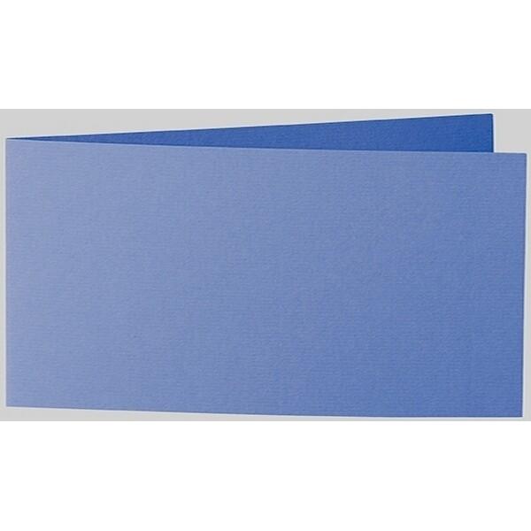 Artoz 1001 - 'Royal Blue' Card. 420mm x 105mm 220gsm DL Bi-Fold (Short Edge) Card.