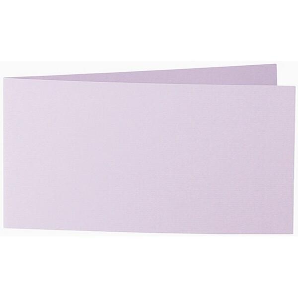 Artoz 1001 - 'Rose Quartz' Card. 420mm x 105mm 220gsm DL Bi-Fold (Short Edge) Card.