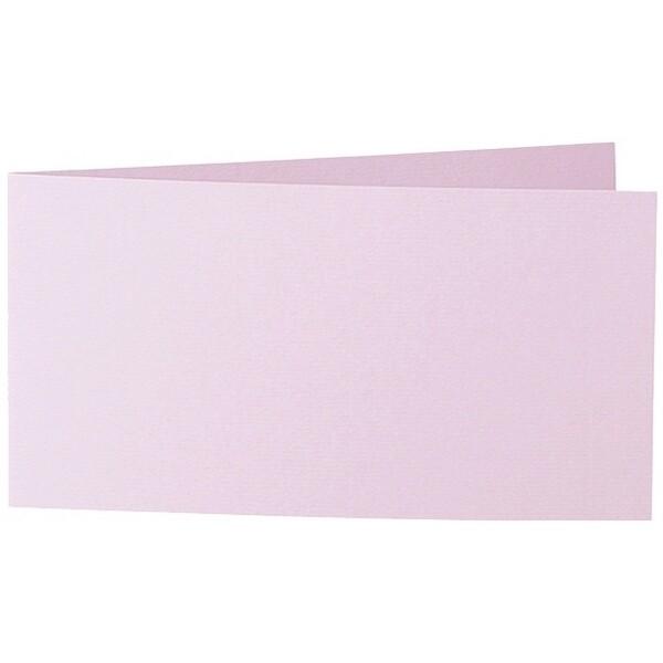Artoz 1001 - 'Cherry Blossom' Card. 420mm x 105mm 220gsm DL Bi-Fold (Short Edge) Card.