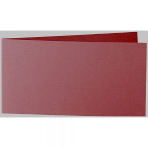 Artoz 1001 - 'Bordeaux' Card. 420mm x 105mm 220gsm DL Bi-Fold (Short Edge) Card.