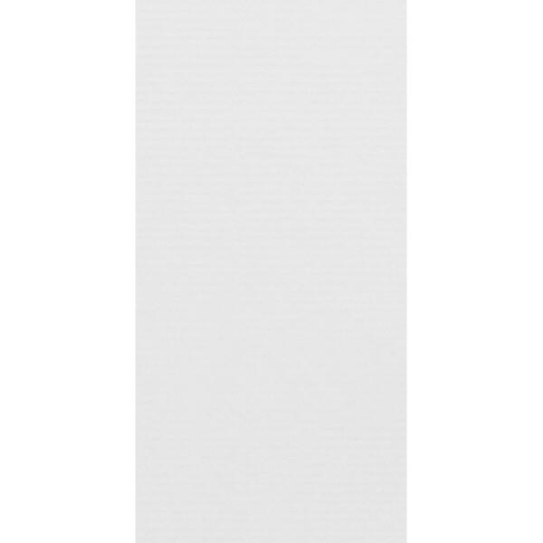 Artoz 1001 - 'Blossom White' Card. 210mm x 105mm 220gsm DL Card.