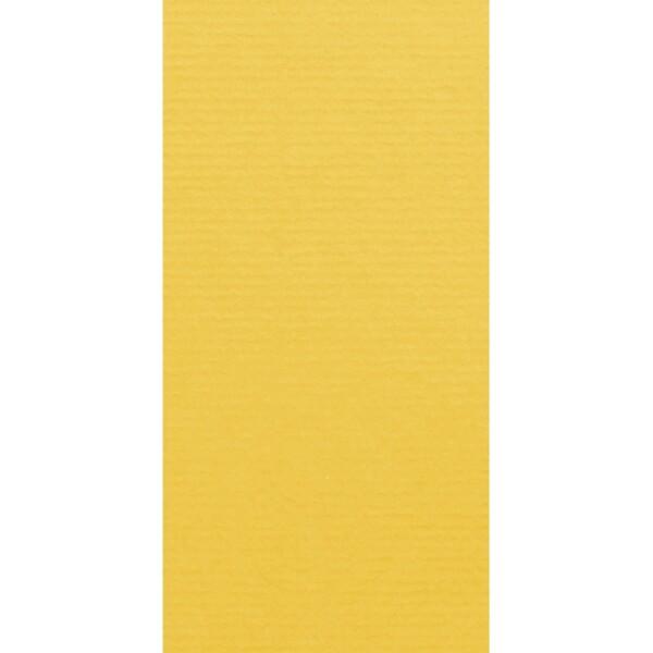 Artoz 1001 - 'Sun Yellow' Card. 210mm x 105mm 220gsm DL Card.