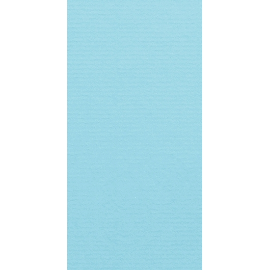 Artoz 1001 - 'Azure Blue' Card. 210mm x 105mm 220gsm DL Card.