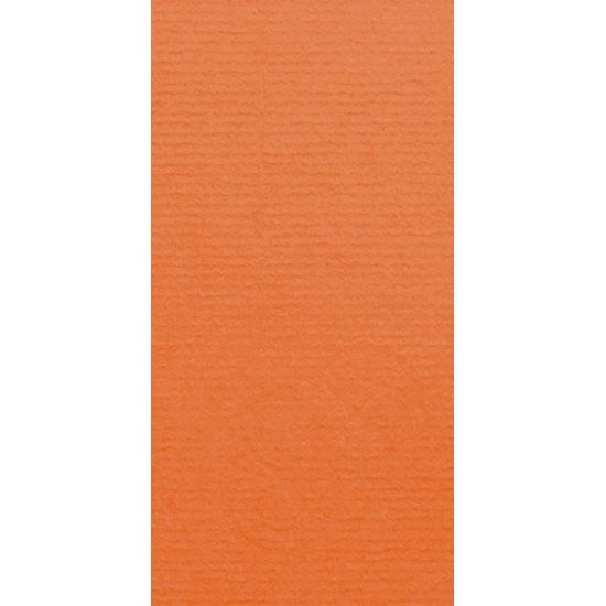 Artoz 1001 - 'Lobster Red' Card. 210mm x 105mm 220gsm DL Card.