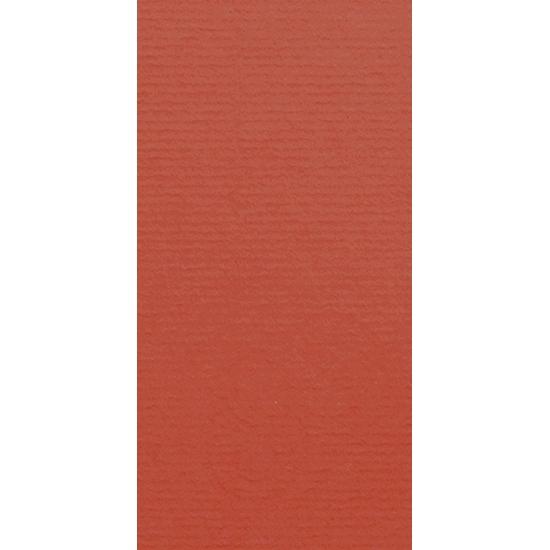 Artoz 1001 - 'Fire Red' Card. 210mm x 105mm 220gsm DL Card.