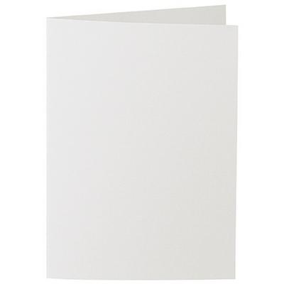 Artoz 1001 - 'Silver Grey' Card. 210mm x 148mm 220gsm A6 Folded (Long Edge) Card.