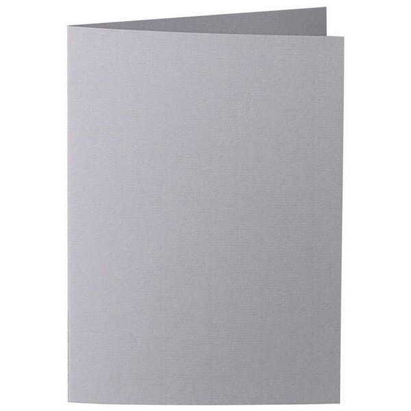 Artoz 1001 - 'Graphite' Card. 210mm x 148mm 220gsm A6 Folded (Long Edge) Card.