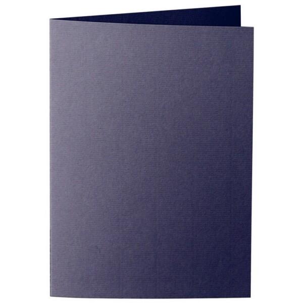 Artoz 1001 - 'Jet Black' Card. 210mm x 148mm 220gsm A6 Folded (Long Edge) Card.