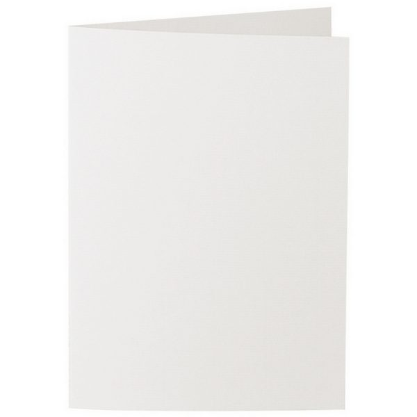 Artoz 1001 - 'Pale Ivory' Card. 210mm x 148mm 220gsm A6 Folded (Long Edge) Card.