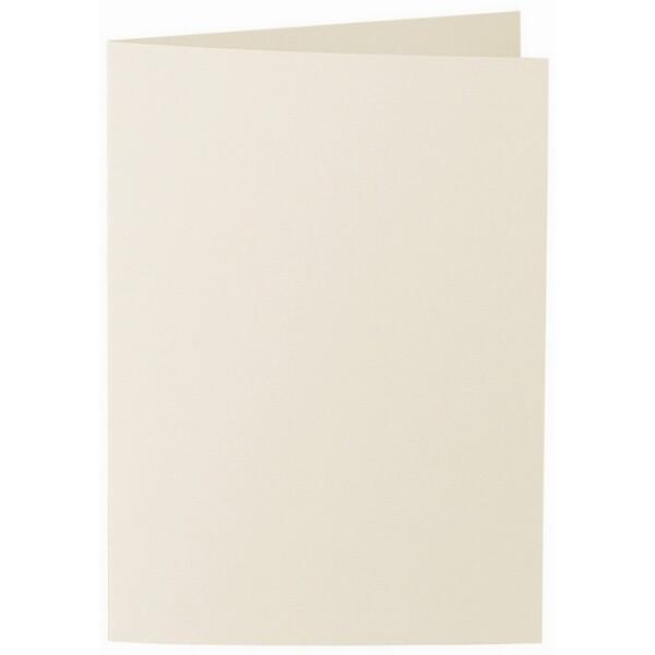 Artoz 1001 - 'Chamois' Card. 210mm x 148mm 220gsm A6 Folded (Long Edge) Card.