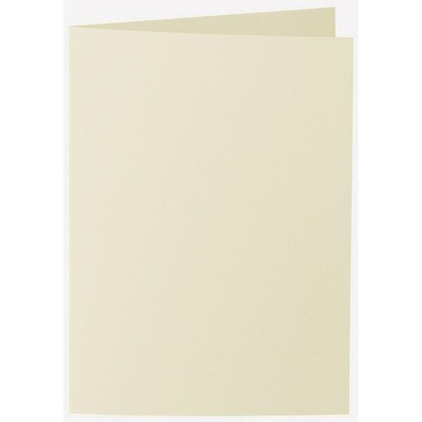 Artoz 1001 - 'Crema' Card. 210mm x 148mm 220gsm A6 Folded (Long Edge) Card.