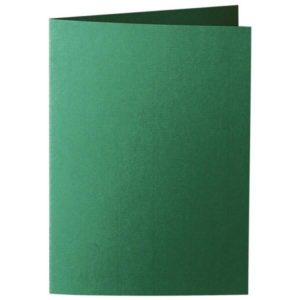 Artoz 1001 - 'Racing Green' Card. 210mm x 148mm 220gsm A6 Folded (Long Edge) Card.