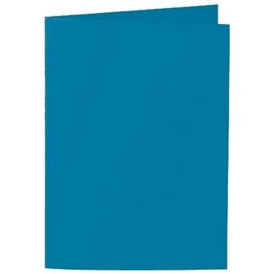Artoz 1001 - 'Teal' Card. 210mm x 148mm 220gsm A6 Folded (Long Edge) Card.