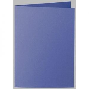 Artoz 1001 - 'Indigo' Card. 210mm x 148mm 220gsm A6 Folded (Long Edge) Card.