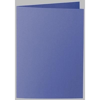 Artoz 1001 - 'Indigo' Card. 210mm x 148mm 220gsm A6 Folded (Long Edge) Card.