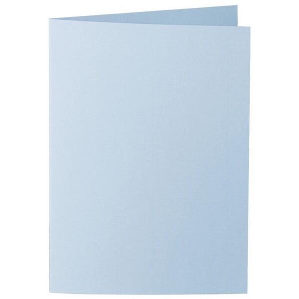 Artoz 1001 - 'Pastel Blue' Card. 210mm x 148mm 220gsm A6 Folded (Long Edge) Card.