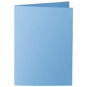 Artoz 1001 - 'Marine Blue' Card. 210mm x 148mm 220gsm A6 Folded (Long Edge) Card.