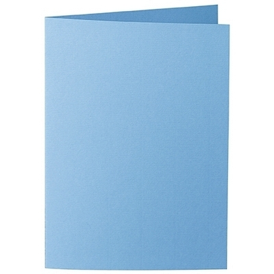 Artoz 1001 - 'Marine Blue' Card. 210mm x 148mm 220gsm A6 Folded (Long Edge) Card.