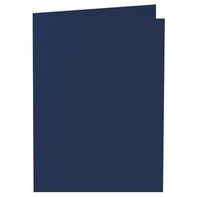 Artoz 1001 - 'Navy Blue' Card. 210mm x 148mm 220gsm A6 Folded (Long Edge) Card.