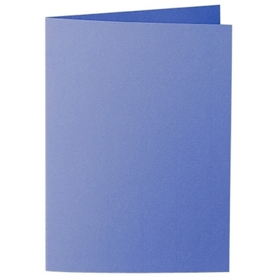 Artoz 1001 - 'Majestic Blue' Card. 210mm x 148mm 220gsm A6 Folded (Long Edge) Card.