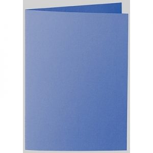 Artoz 1001 - 'Royal Blue' Card. 210mm x 148mm 220gsm A6 Folded (Long Edge) Card.