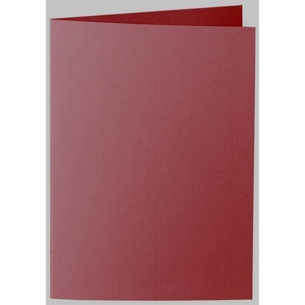 Artoz 1001 - 'Bordeaux' Card. 210mm x 148mm 220gsm A6 Folded (Long Edge) Card.