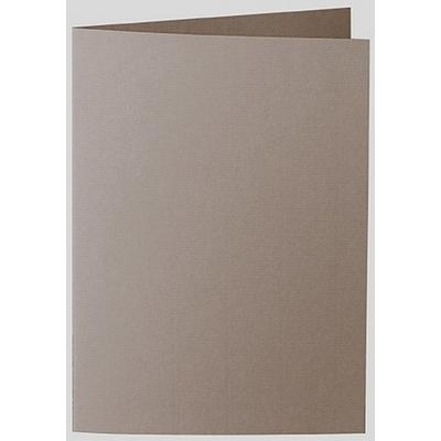 Artoz 1001 - 'Taupe' Card. 210mm x 148mm 220gsm A6 Folded (Long Edge) Card.