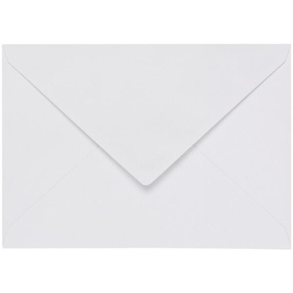 Artoz 1001 - 'Blossom White' Envelope. 162mm x 114mm 100gsm C6 Lined Gummed Envelope.