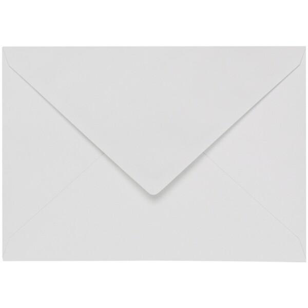 Artoz 1001 - 'Bianco White' Envelope. 162mm x 114mm 100gsm C6 Lined Gummed Envelope.