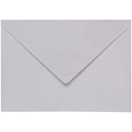 Artoz 1001 - 'Light Grey' Envelope. 162mm x 114mm 100gsm C6 Lined Gummed Envelope.