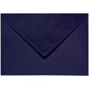 Artoz 1001 - 'Jet Black' Envelope. 162mm x 114mm 100gsm C6 Lined Gummed Envelope.