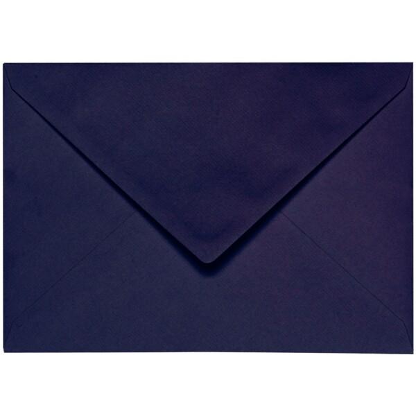 Artoz 1001 - 'Jet Black' Envelope. 162mm x 114mm 100gsm C6 Lined Gummed Envelope.