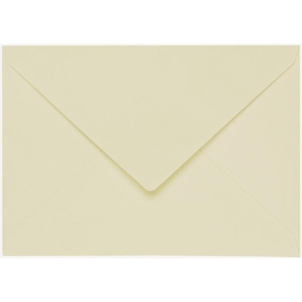 Artoz 1001 - 'Crema' Envelope. 162mm x 114mm 100gsm C6 Lined Gummed Envelope.