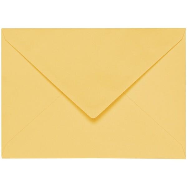 Artoz 1001 - 'Light Yellow' Envelope. 162mm x 114mm 100gsm C6 Lined Gummed Envelope.