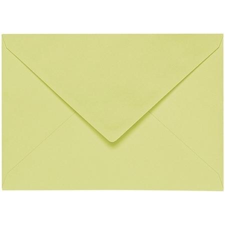Artoz 1001 - 'Lime' Envelope. 162mm x 114mm 100gsm C6 Lined Gummed Envelope.