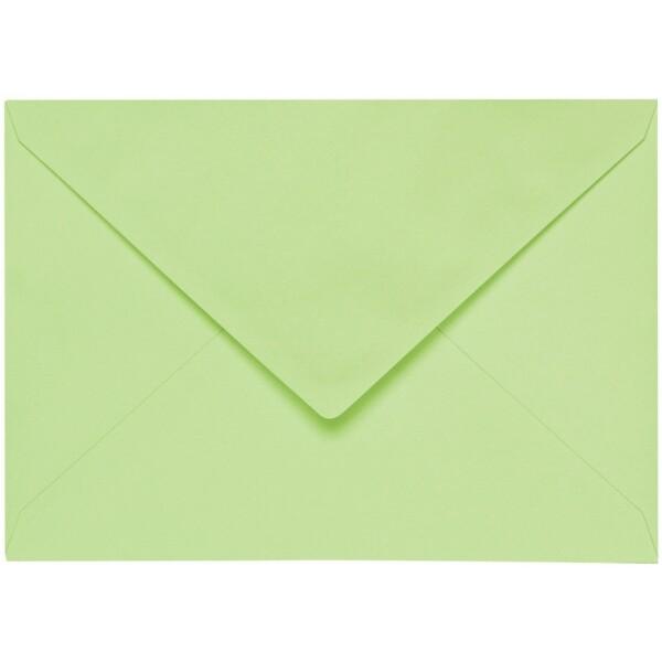 Artoz 1001 - 'Birchtree Green' Envelope. 162mm x 114mm 100gsm C6 Lined Gummed Envelope.