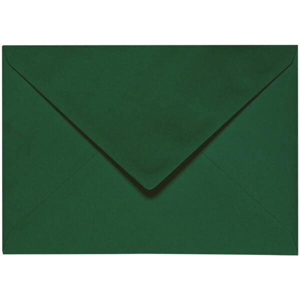 Artoz 1001 - 'Racing Green' Envelope. 162mm x 114mm 100gsm C6 Lined Gummed Envelope.