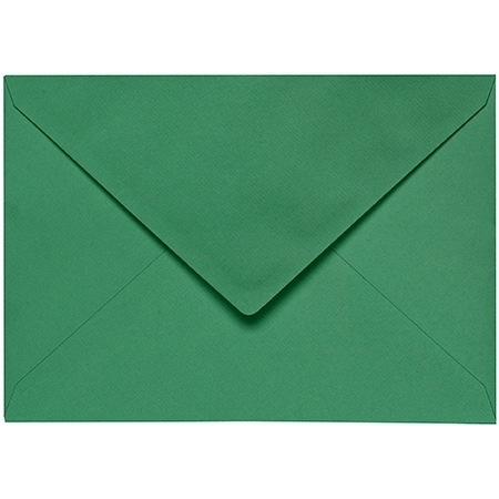 Artoz 1001 - 'Firtree Green' Envelope. 162mm x 114mm 100gsm C6 Lined Gummed Envelope.