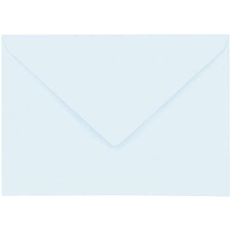Artoz 1001 - 'Light Blue' Envelope. 162mm x 114mm 100gsm C6 Lined Gummed Envelope.