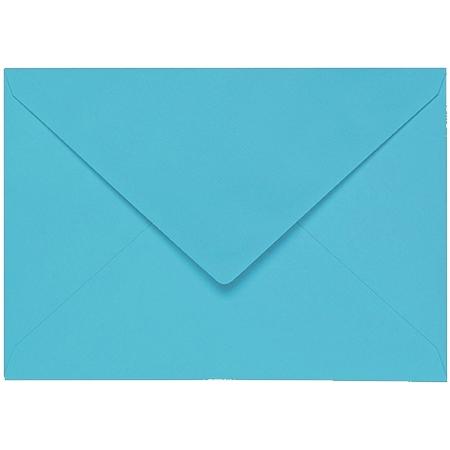 Artoz 1001 - 'Turquoise' Envelope. 162mm x 114mm 100gsm C6 Lined Gummed Envelope.