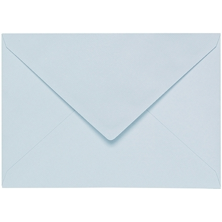 Artoz 1001 - 'Sky Blue' Envelope. 162mm x 114mm 100gsm C6 Lined Gummed Envelope.