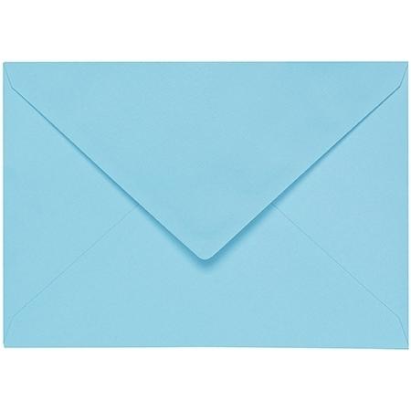 Artoz 1001 - 'Azure Blue' Envelope. 162mm x 114mm 100gsm C6 Lined Gummed Envelope.