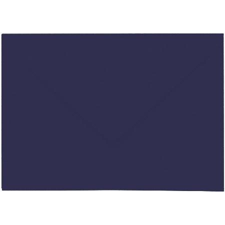 Artoz 1001 - 'Navy Blue' Envelope. 162mm x 114mm 100gsm C6 Lined Gummed Envelope.